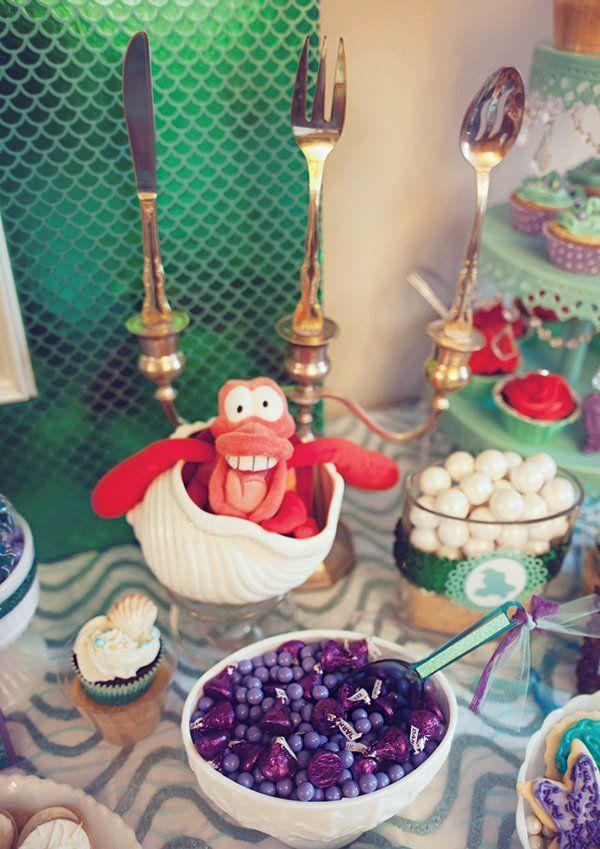25 best ideas about little mermaid sebastian on pinterest for Ariel decoration ideas