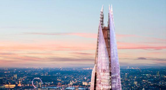 Conheça o hotel de luxo na torre The Shard em Londres