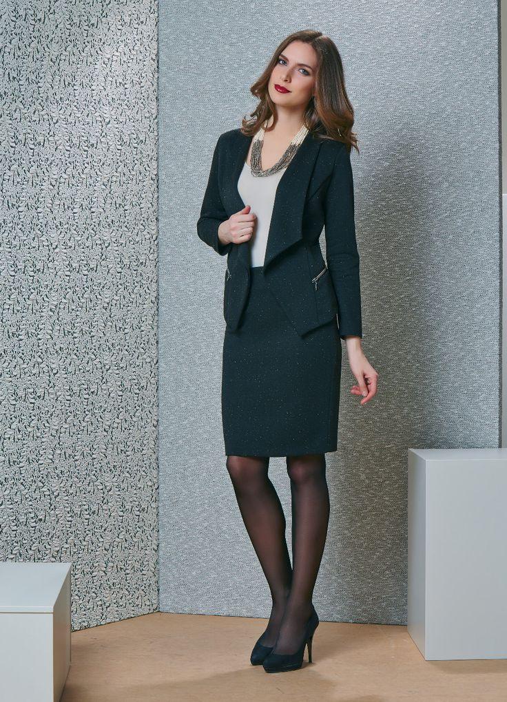 Cтильный женский костюм купить | Костюмы с юбкой
