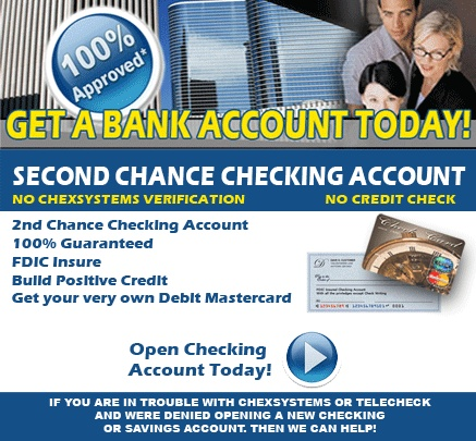Get a Bank Account Today