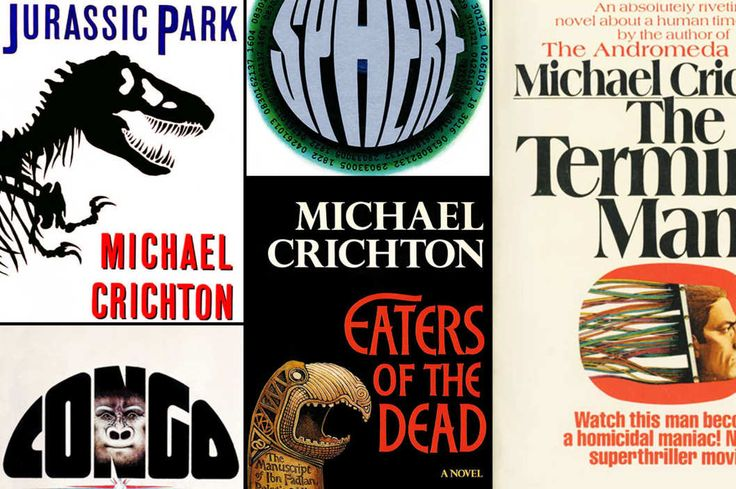 Ranking All 16 Michael Crichton Novels