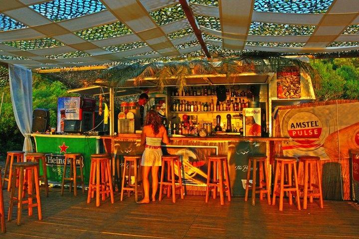 Apple Paradise Beach Bar Milia Beach Skopelos Greece