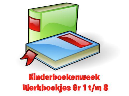 Kinderboekenweek 2016 Werkboekjes