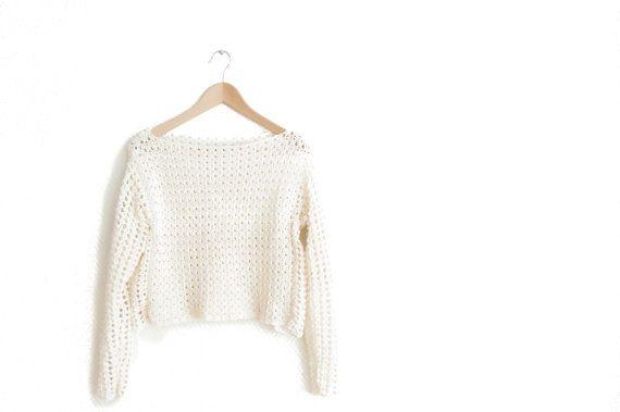 CROCHET PATTERN  DIY  sweater woman's  easy her by joyofmotion