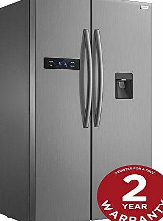 Russell Hobbs American Style Fridge freezer, 90cm wide, Side by Side, A  efficiency, RH90FF176SS- 2 Year Warranty* No description (Barcode EAN = 5060210928100). http://www.comparestoreprices.co.uk/december-2016-week-1/russell-hobbs-american-style-fridge-freezer-90cm-wide-side-by-side-a -efficiency-rh90ff176ss-2-year-warranty.asp