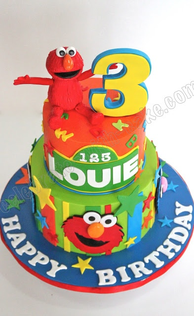 107 Best Images About Elmo Cakes On Pinterest Sesame