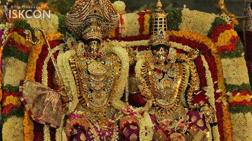 Sri #Brahmotsava celebrations (April 18, 2017) - ISKCON Bangalore  Sri Sri Rukmini Vijaya Alankara - Ashva Vahana