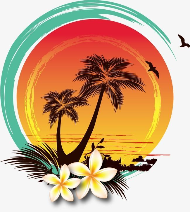 Isla Shadow Clipart Clipart Seabirds Png Transparent Clipart Image And Psd File For Free Download Sunset Cocon Painting Art Projects Hawaiian Art Surf Art