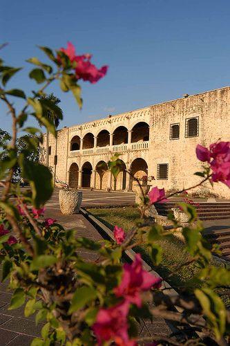 Alcazar de Colon (Christopher Columbus' Palace) Santo Domingo, DOMINICAN REPUBLIC.