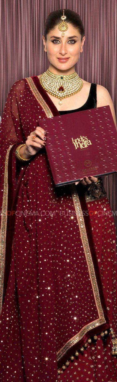 Kareena Kapoor. And the color of that lehenga.