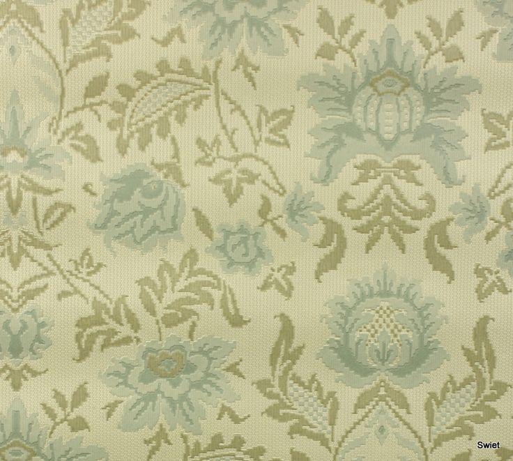 Vintage bloemen behang | Swiet