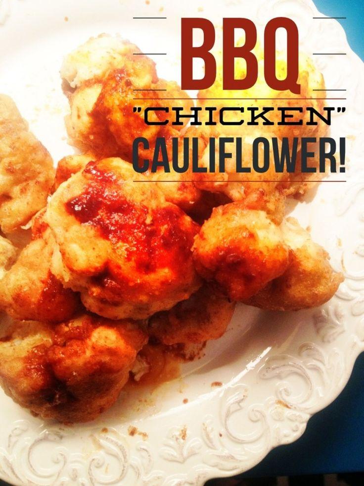 """BBQ """"Chicken"""" Cauliflower - Be Well With Arielle"""