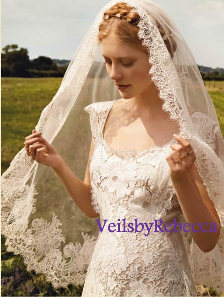 273 best Veils & Mantillas images on Pinterest   Schleier, Rotgold ...