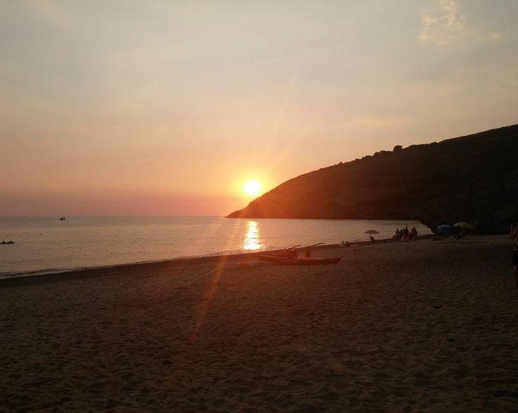 Marina di Camerota (SA) - Cala d'Arconte. #nofilter  #sky #sun #sunset  #sunshine #sol #red #sunsets_oftheworld #twilightscapes #sky #clouds #sunset_pics #sunsetsniper #ig_sunsetshots #all_sunsets #sunsetporn #orange #instasunsets #sunset_vision #super_photosunsets #ig_sunset #sunrays #sunsetlovers #isea_sunsets #scenicsunset #sunsethunter #irox_skyline #skyporn #cloudporn #clouds