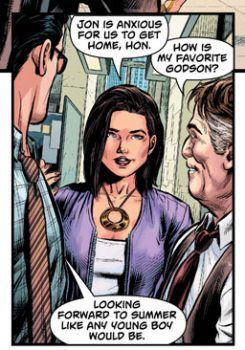 Perry White, Now Jonathan Kent's Godfather, And Always Has Been – But Is That Doctor Manhattan?