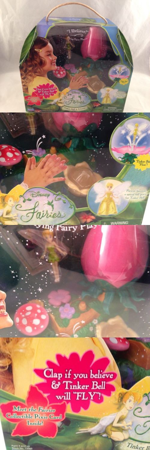 Tinker Bell Peter Pan 146041: Original First Release Disney Fairies Tinker Bell Flying Fairy Doll Playset Nib -> BUY IT NOW ONLY: $45.95 on eBay!