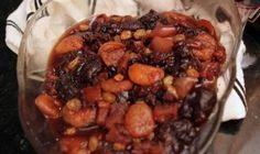 Compota de Frutas Secas de Gladys (Gladys' Dried Fruit Compote) for Passover