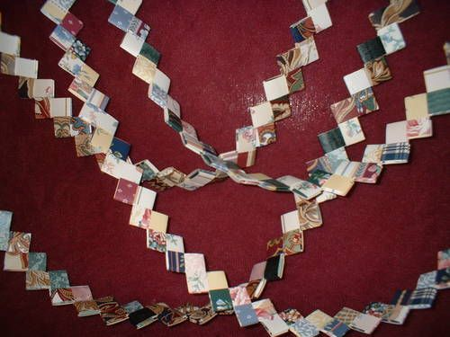Patchwork Paper Chain