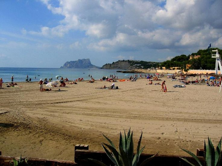 2 Bedroom Apartment in Moraira to rent from £250 pw. With balcony/terrace and DVD.