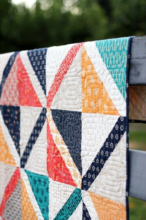 Pre-Cuts Quilt Patterns - Large Crosshatch quilt by Amy Smart
