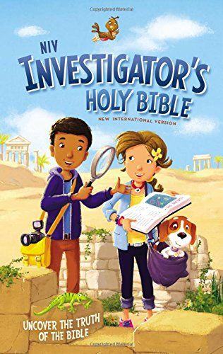 The Investigator's Holy Bible (NIV)  is a new children's study Bible. There are a couple of cover options, but the one I am reviewing has...