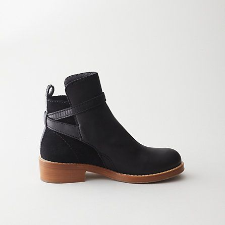 Acne Clover Low Heel Ankle Boot | Womens Shoes | Steven Alan