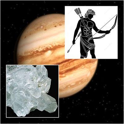 En astrología, Sagittarius o Sagitario (♐) es el noveno signo del zodíaco.Simboliza la conciencia superior y su símbolo representa la flecha del arquero. Está regido por Júpiter, piedra cristal de roca.