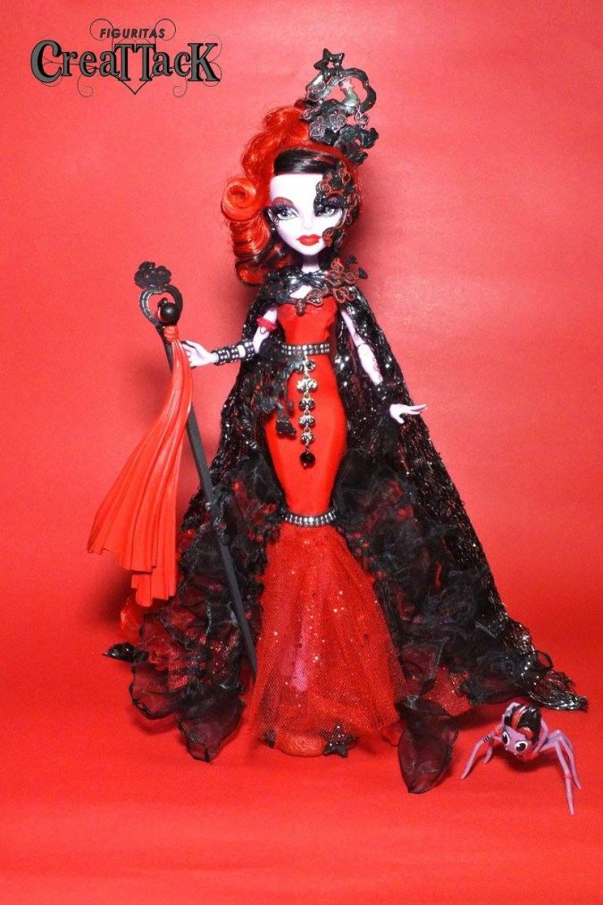Королевы Монстр Хай: Самодельные образы для кукол