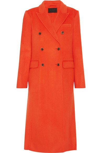 J.Crew's bright-orange coat is part of the label's boldly hued Fall '16 collection. Cut from cozy wool-blend and tailored for a slim fit, this coat is left unlined to ensure warmth without the added bulk. We think it's perfect for enlivening winter's typically muted color palette.