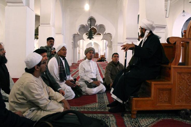 Habib Umar in the Qarawiyyin Mosque