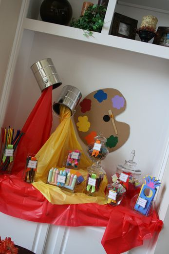"""Photo 1 of 26: Arts & Crafts / Back to School """"Art Party"""" 