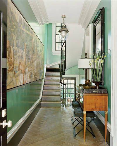 Wonderful Home Of Steve Gambrel, So Many Things That Make This  Interesting Herringbone Floors,