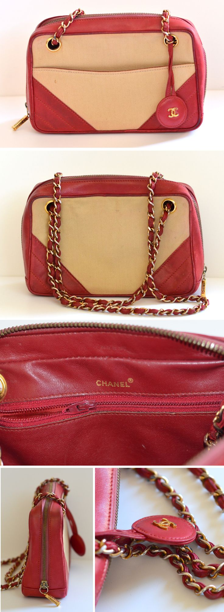 Is this vintage bag purchased from a high end consignment store fake chanel or