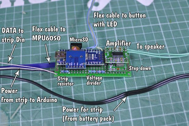 Arduino Based Lightsaber With Light And Sound Effects Lightsaber Diy Lightsaber Lightsaber Design