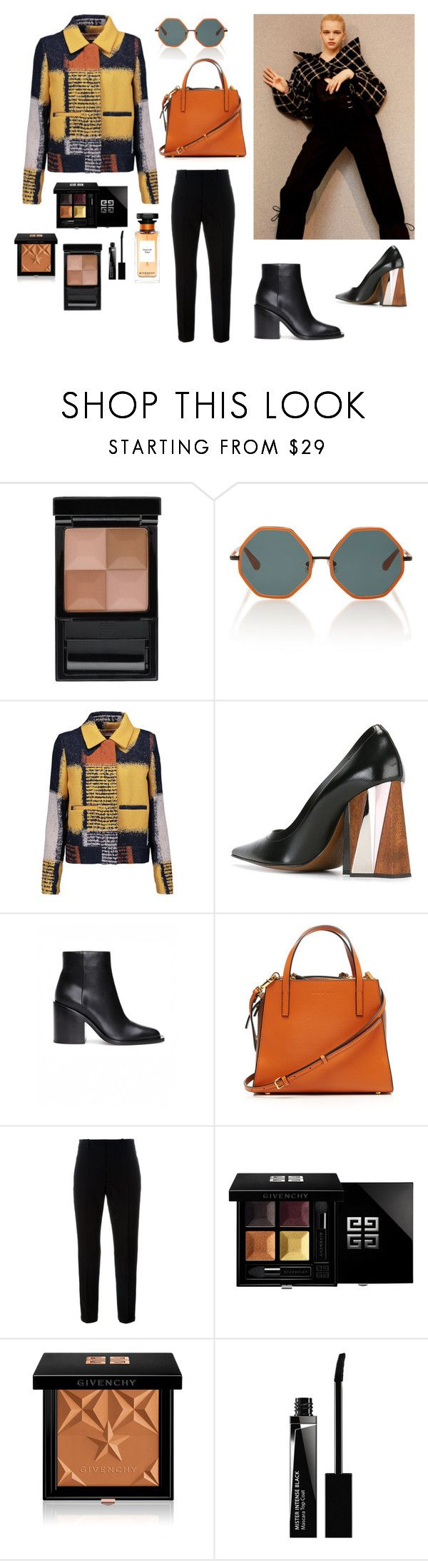 """""""captain crunch"""" by wednesday-williams ❤ liked on Polyvore featuring Givenchy, Rosie Assoulin, Marni, StreetStyle, Winter and winter2017"""