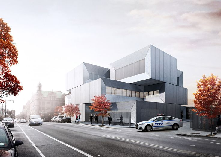 BIG reveals design of police station planned for the Bronx Dezeen