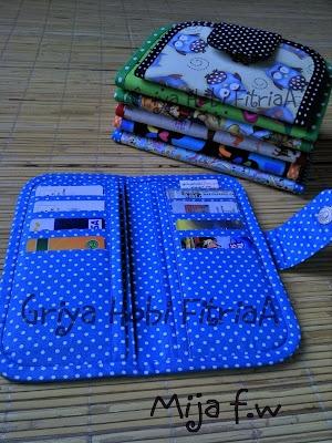 mija fabric wallet