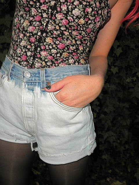 a pair and a spare . diy fashion: Denim