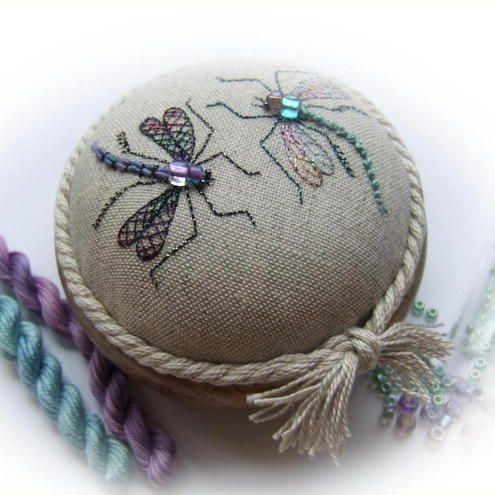 Dragonfly Duo Pincushion Kit £26.50