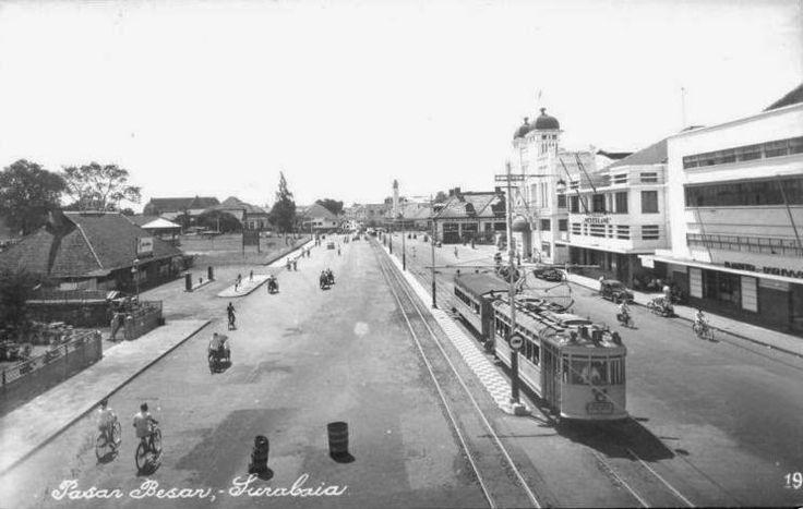 Pasar Besar Surabaya 1920
