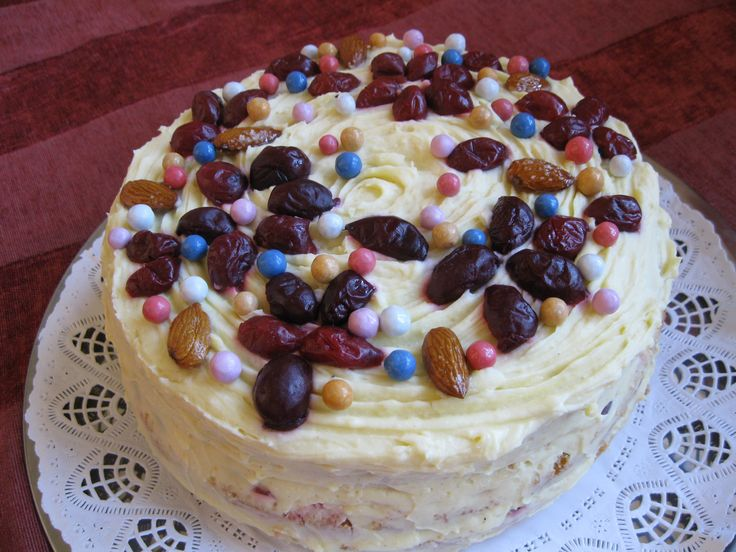 Christmas + birthday cake