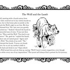 Aesop Collection  The Wolf and the Lamb    Inside you'll find the Aesop story of 'The Wolf and the Lamb' and then a list of 10 activities to do with t...
