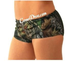 Boy Short Swim Bottoms - Cut in the very popular and very comfortable boy short style, this Mossy Oak Bikini is going to be your favorite. Exquisite polyester/Spandex material for a soft, silky feel. Juniors sizes run small. All our Mossy Oak Swimwear is mix and match.