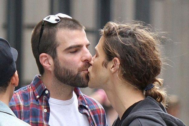 James Franco Kisses Zachary Quinto To Promote I Am Michael