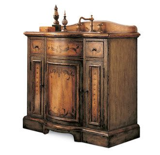 Cole And Co Larchmont Chest Hand Painted Bathroom Vanity