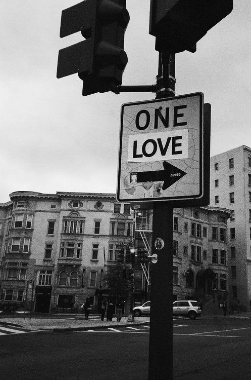 one love, one heart, let's get together an it'll be alright...sing with me!