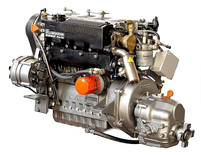 how to put a diesel engine in a gas truck
