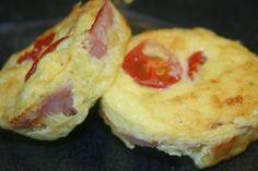 Min lavkarbomat: Enkle egg- og skinkepaier