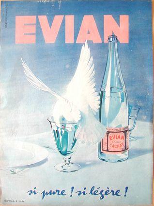 Evian, si pure ! si légère !