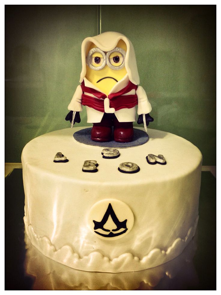 Cake Design Assassin S Creed : 17 Best images about assassins creed festa cauan on ...